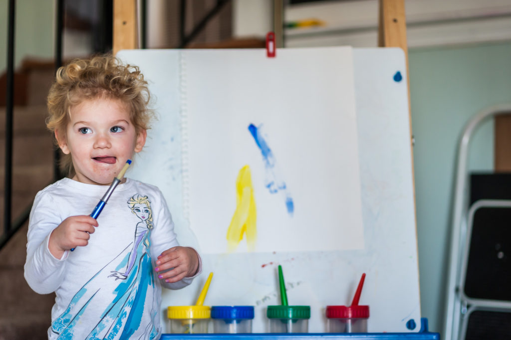 painting, toddler, greenville, yeahthatgreenville, self care, creative outlet, creativity