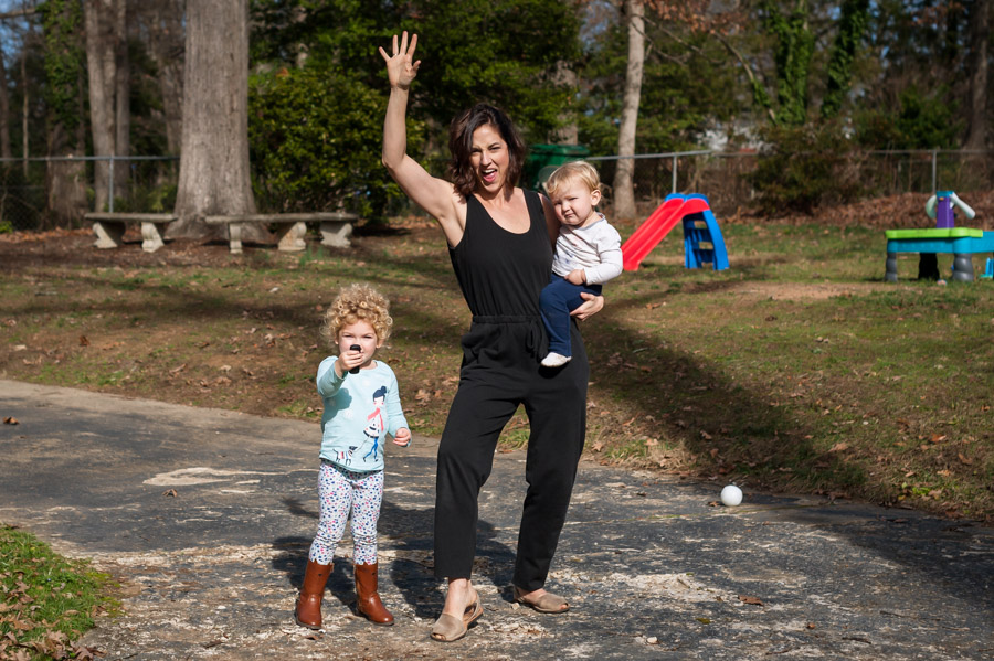 Rocking the Mom Style like a boss