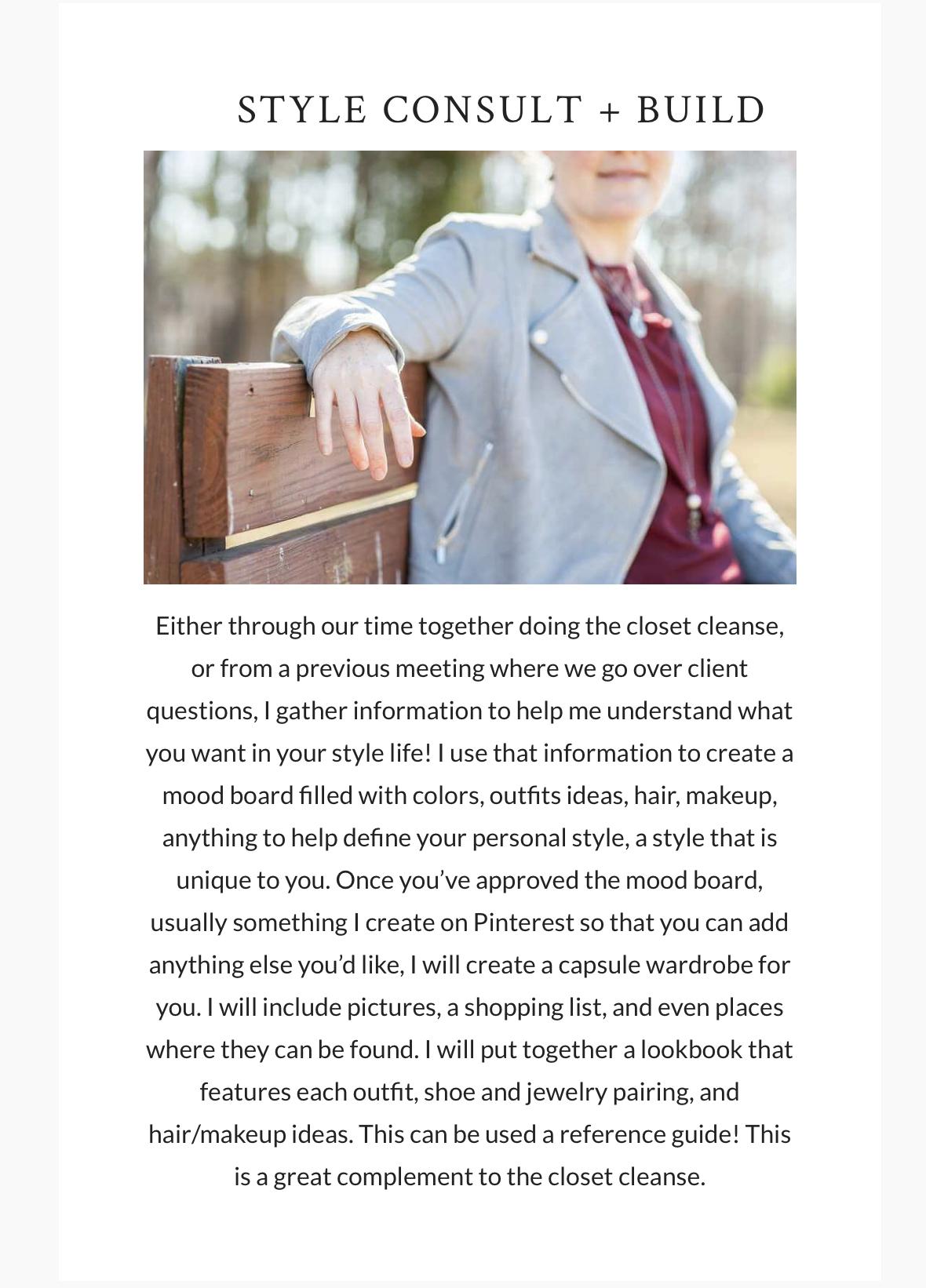 What It Looks Like to Work With a Wardrobe Stylist – Personal Stylist, Wendi Matt, Greenville, SC