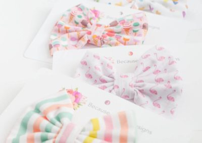 apparel product photography bows