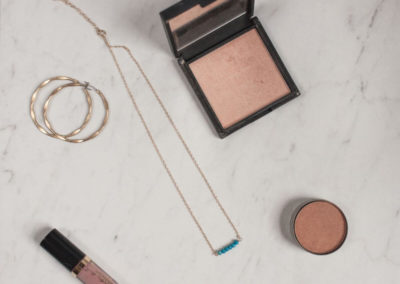flat lay photos of beauty products