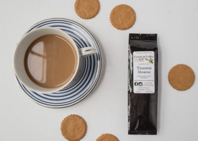 food and drink photography coffee and cookies