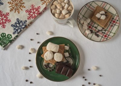 food styling and photography for christmas