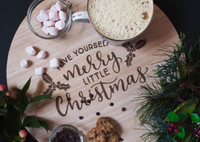 holiday food styling photography