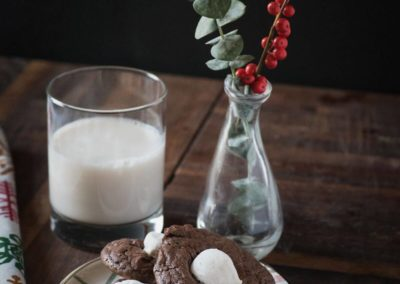 winter food styling and photography