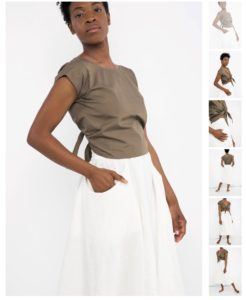 A Guide to Eco Fashion - shop ethical brands such as Elizabeth Suzann a slow fashion designer