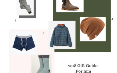 2018 Gift Guide – For Him
