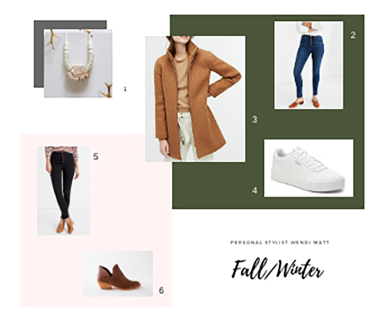 Wendie's Fall/Winter Capsule Wardrobe Personal Stylist Wendi Matt