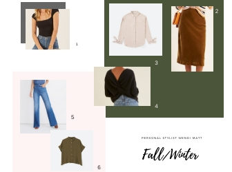 Ashley's Fall/Winter Capsule Wardrobe, Personal Stylist Wendi Matt