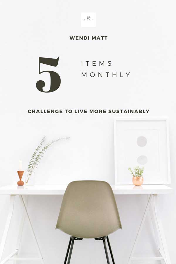 My Journey to a Sustainable Lifestyle by Shopping Less