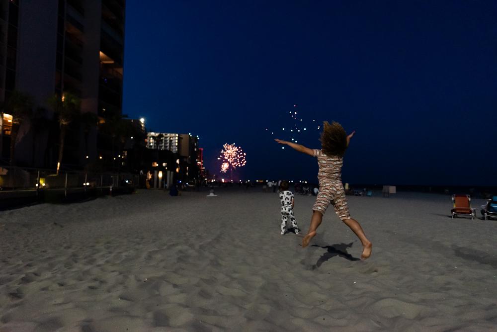 Fireworks at Myrtle Beach